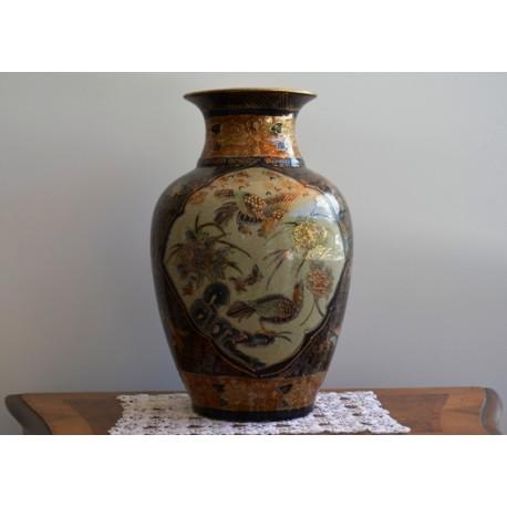 Vaso Animal con rifiniture color Oro